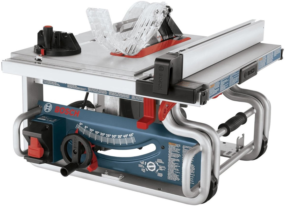 Bosch gts1031 10 inch portable table saw review Bosch portable table saw