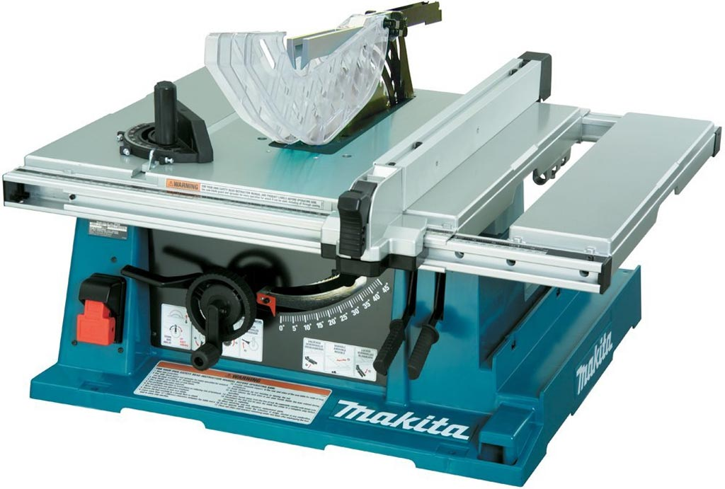 makita 2705 and 2705x1 table saw review superb brake. Black Bedroom Furniture Sets. Home Design Ideas