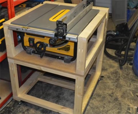 table saw enclosure